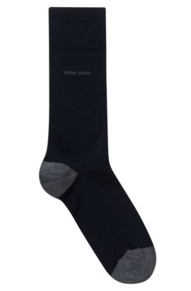 Contrast Socks| Marc RS Heel & Toe US, Dark Blue
