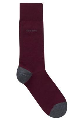 Contrast Socks| Marc RS Heel & Toe US, Dark Red