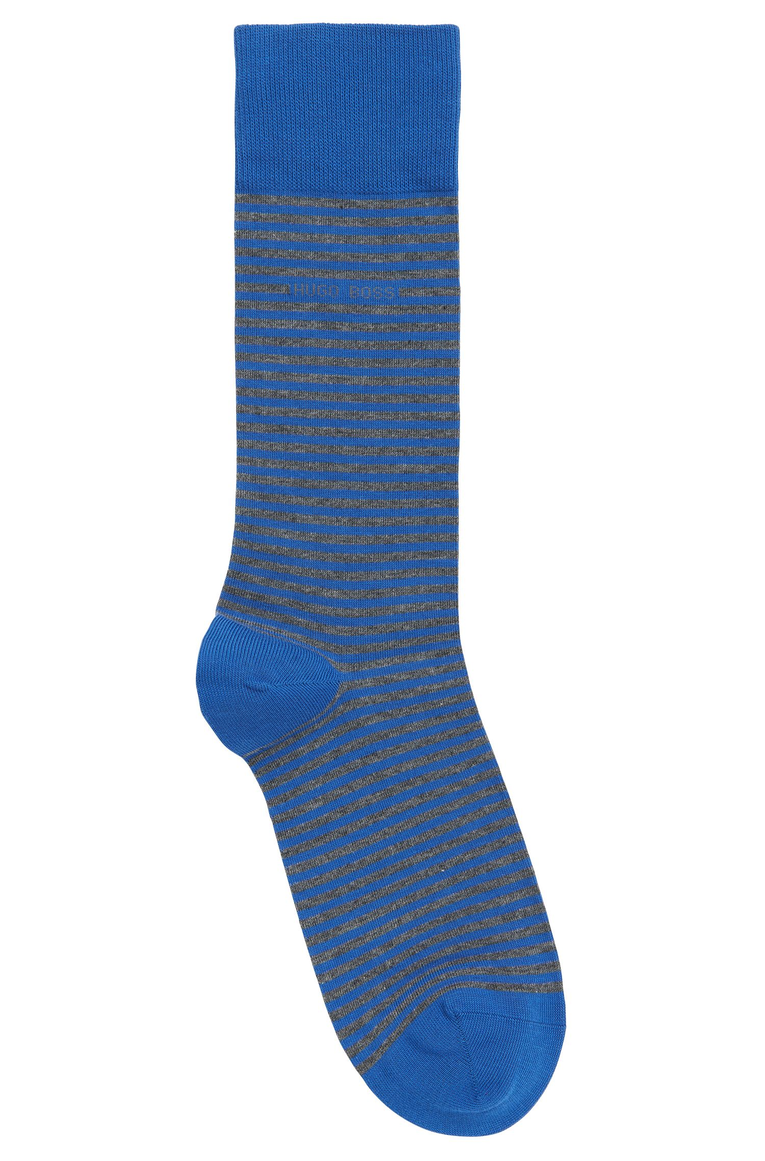 Striped Stretch Cotton Sock | Marc RS Stripe US