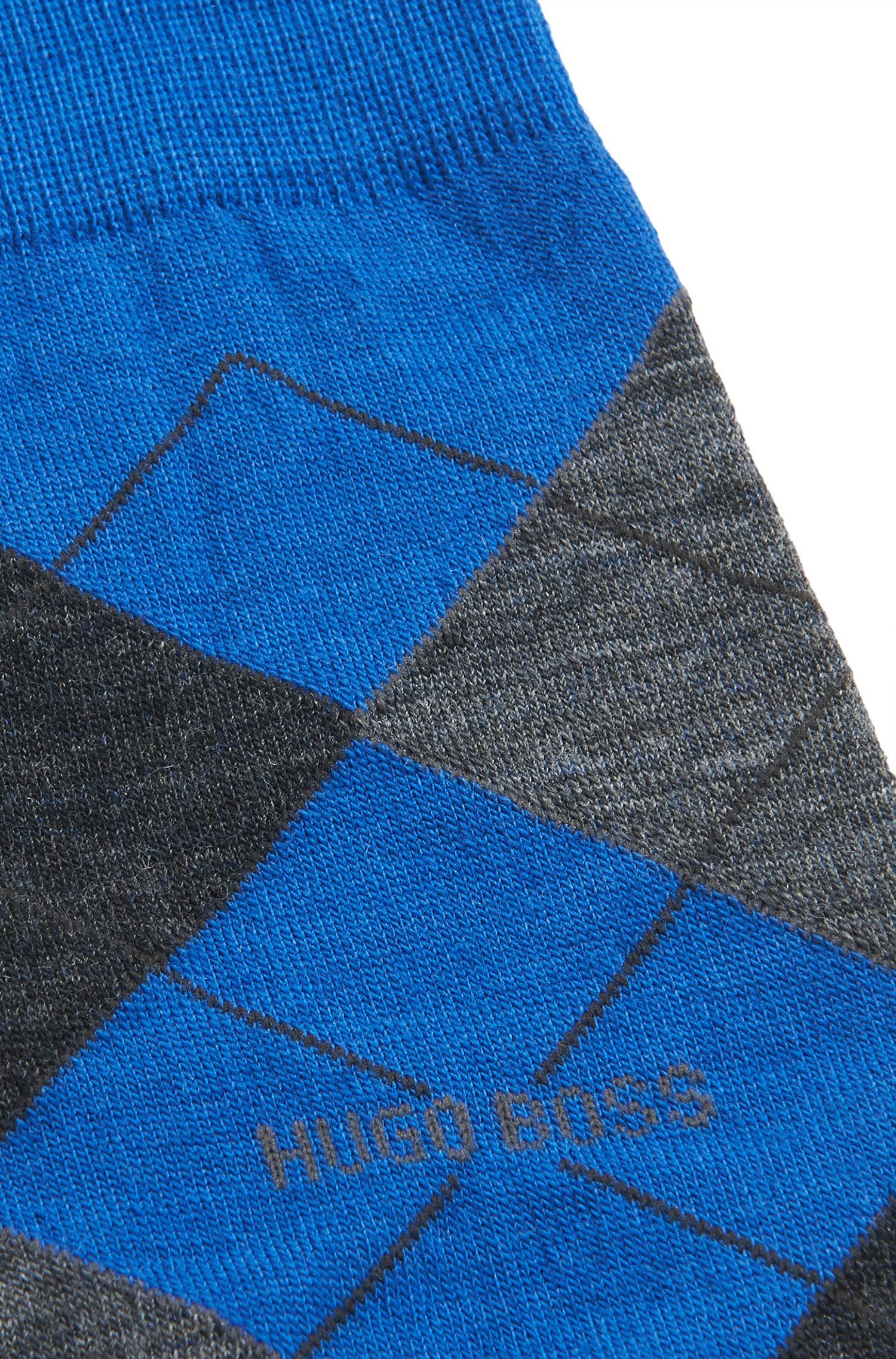 Argyle Stretch Wool Socks | John RS Argyle US