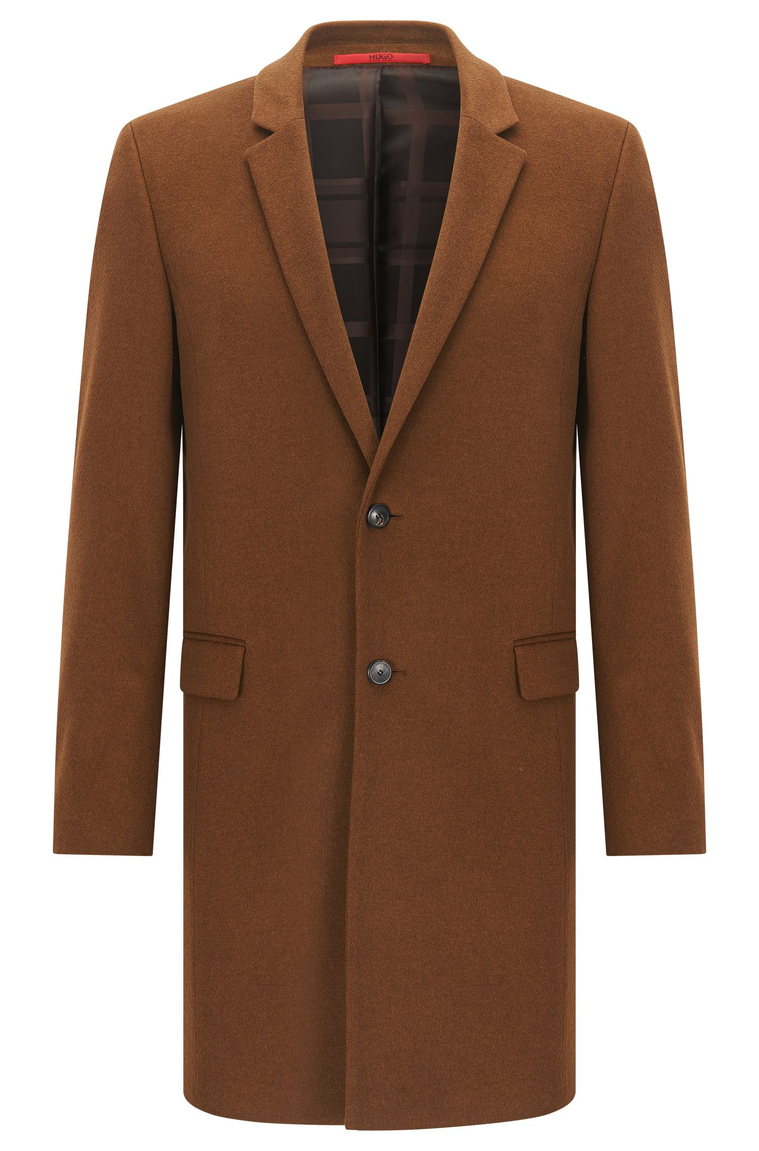 Cashmere Topcoat, Extra Slim Fit | Arto
