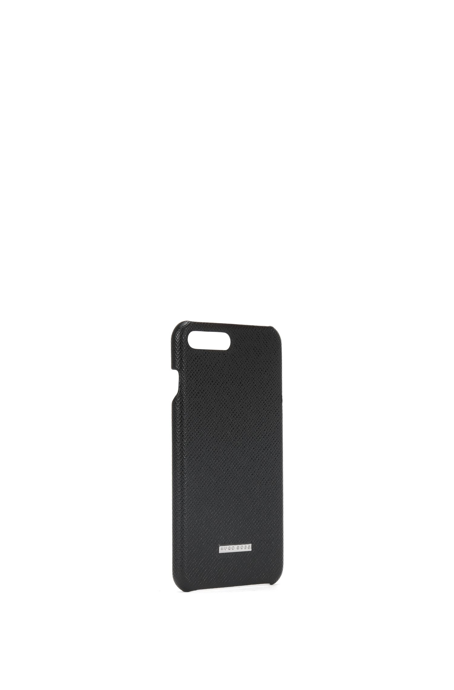 Embossed Leather iPhone 7 Plus Case | Signature Phone 7P