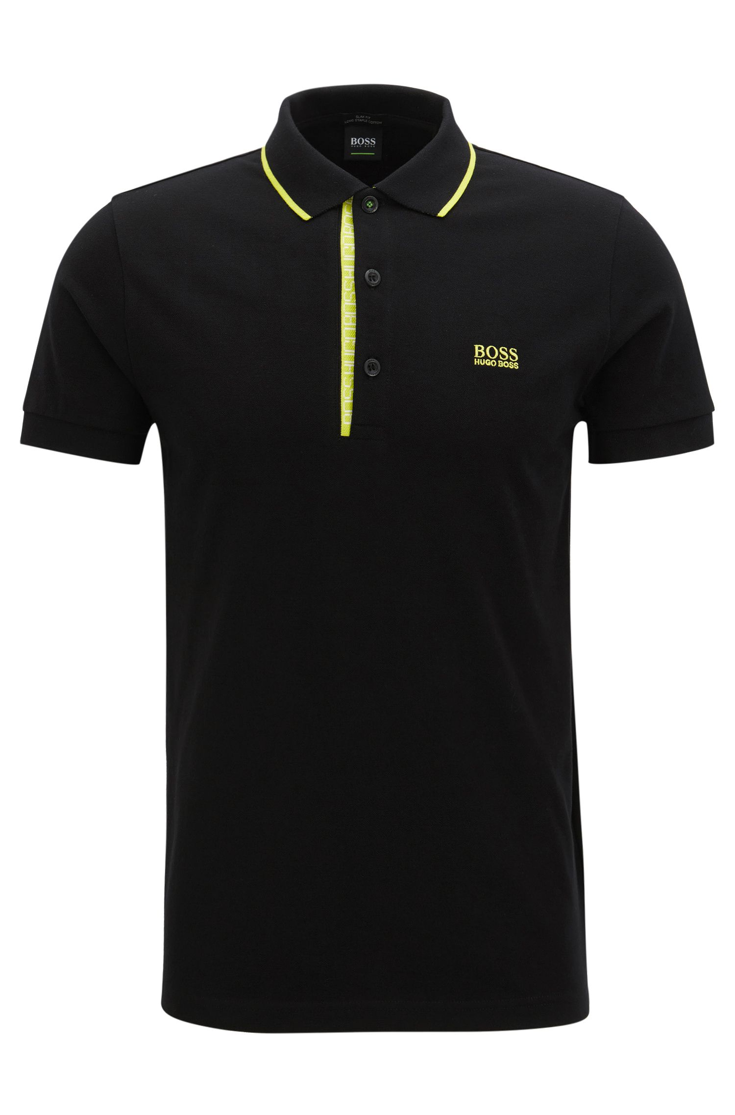 Oxfotd Cotton Polo Shirt, Slim Fit | Paule
