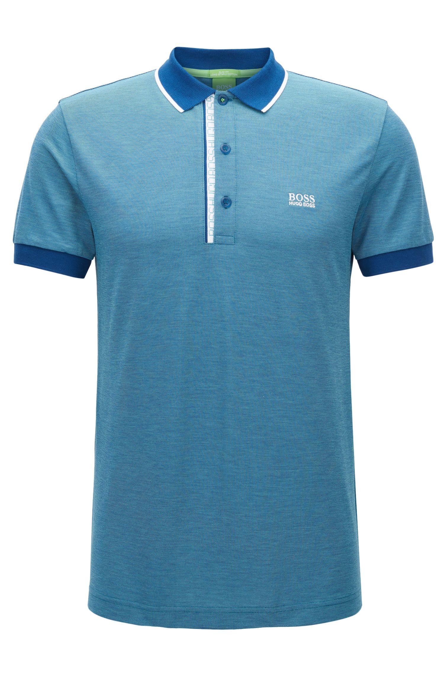 Oxfotd Cotton Polo Shirt, Slim Fit | Paule