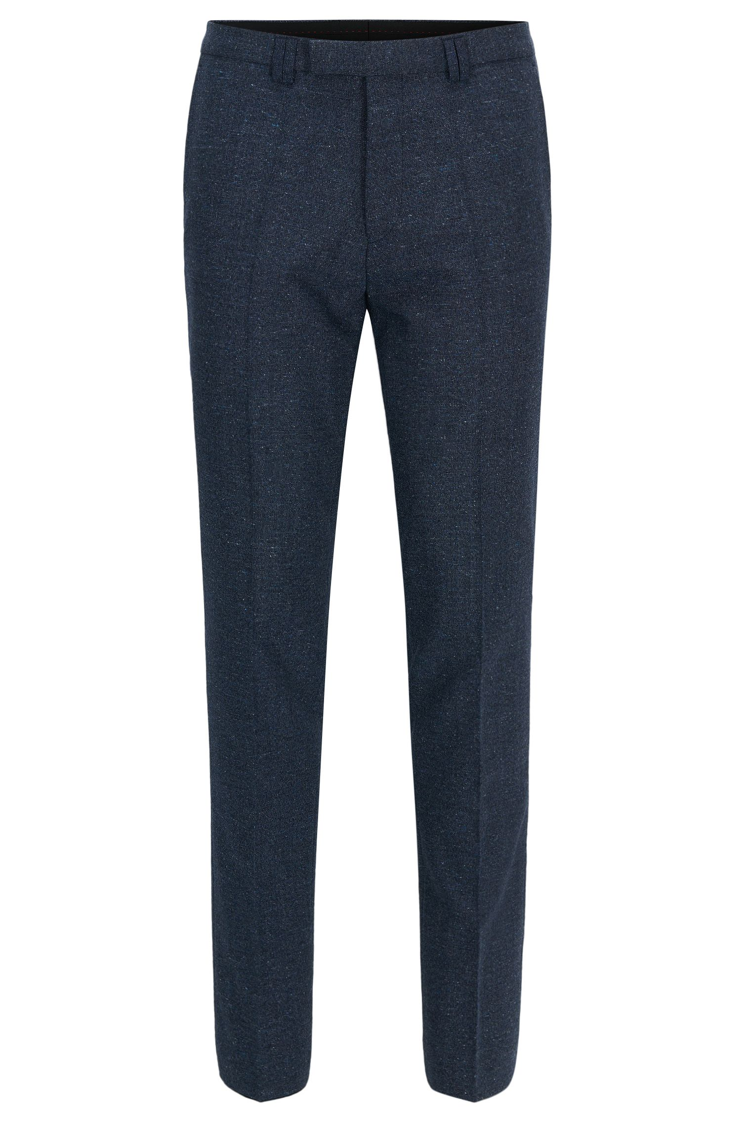 'Hesten' | Extra-Slim Fit, Wool Blend Pants
