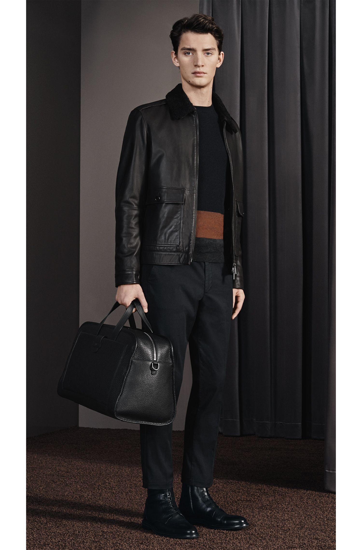 Top-Grain Leather Bag | Varenne Holdall