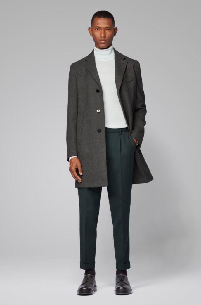 Turtleneck sweater in lightweight Italian cashmere