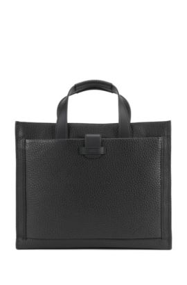 'Varenne Tote' | Top-Grain Leather Tote, Black