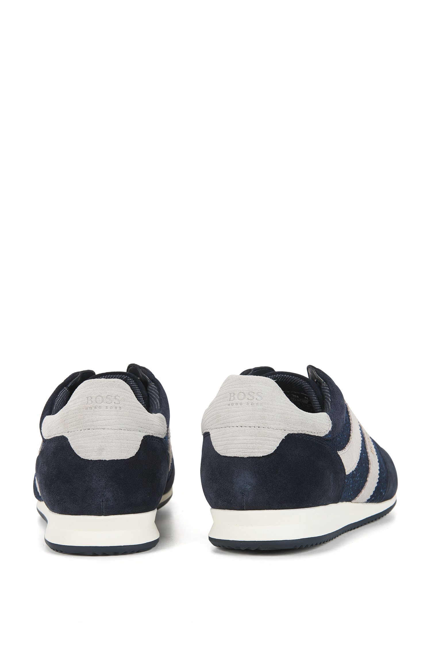 Suede Sneaker | Orlando Lowp Wlsd, Dark Blue