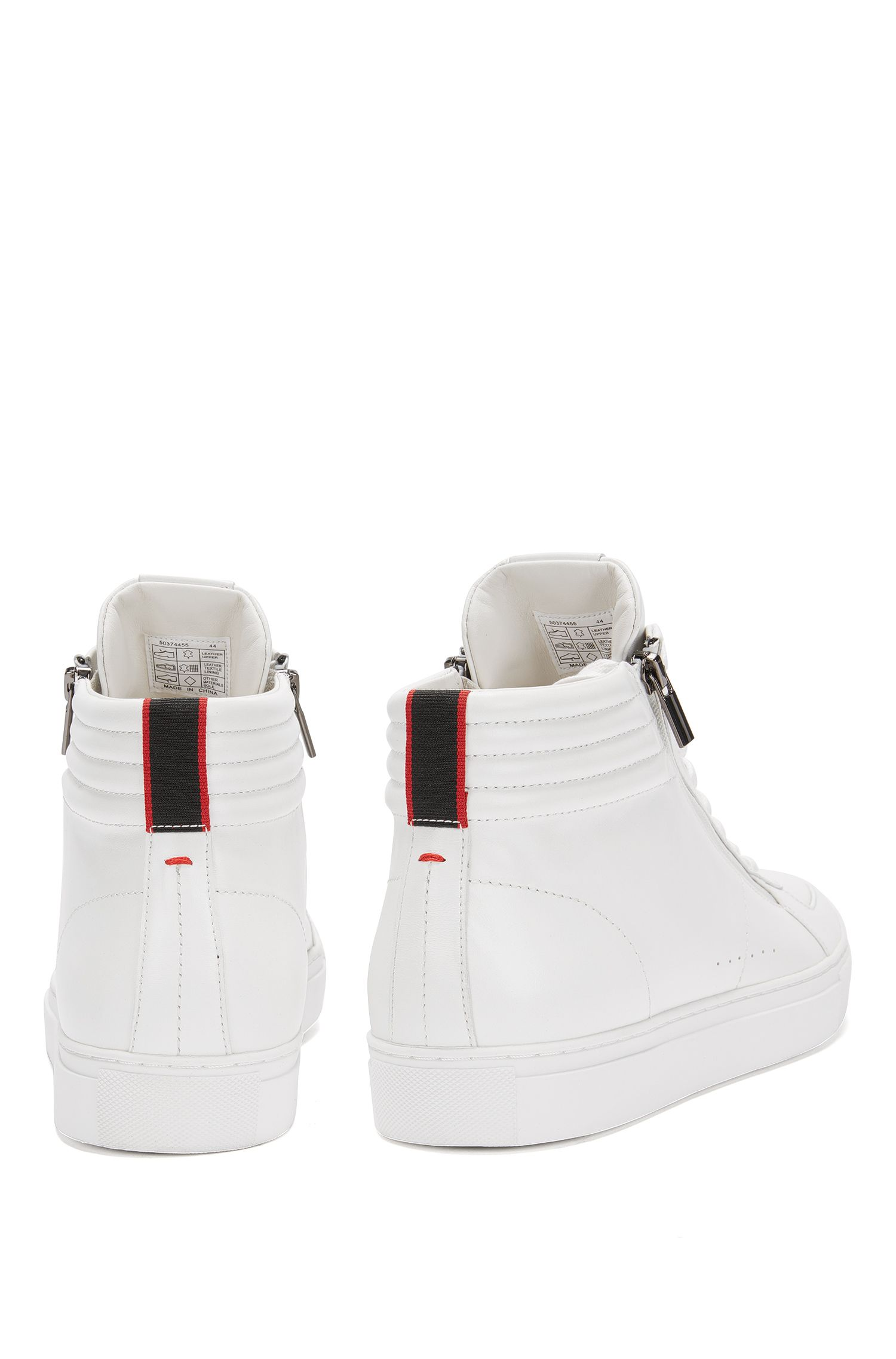 Leather High-Top Sneaker | Futurism Hito Itmtzp