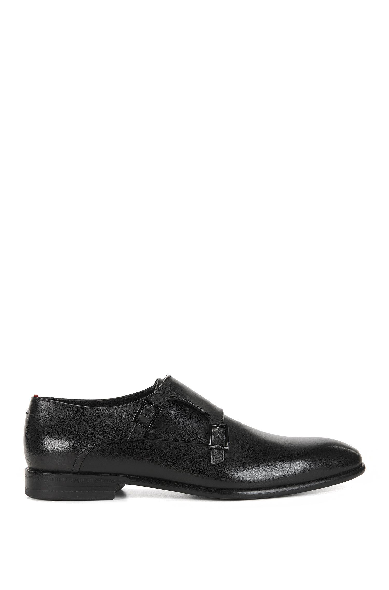 Leather Double Monk Strap Dress Shoe | Dressapp Monk BU