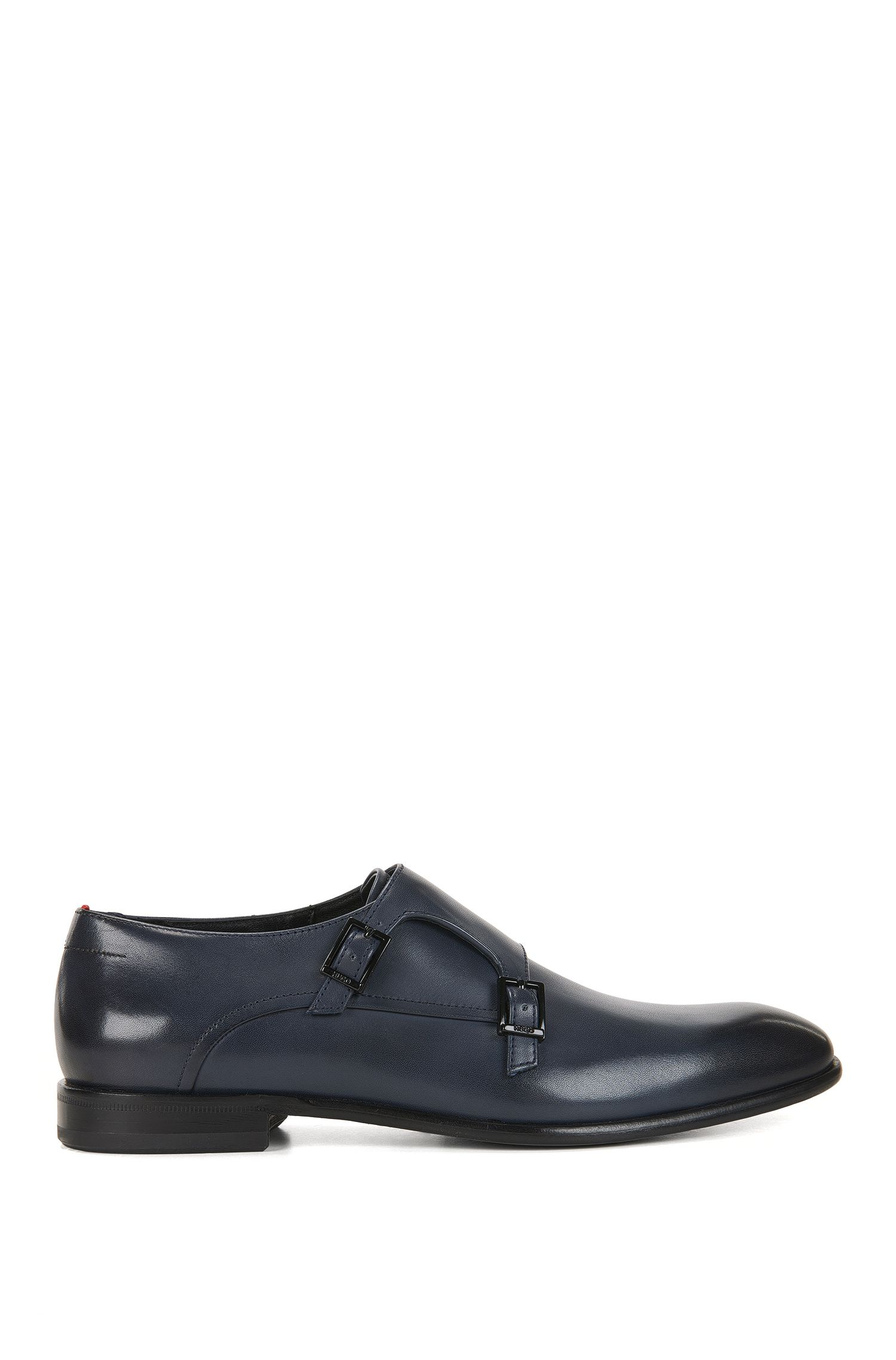 Leather Double Monk Strap Dress Shoe | Dressapp Monk BU
