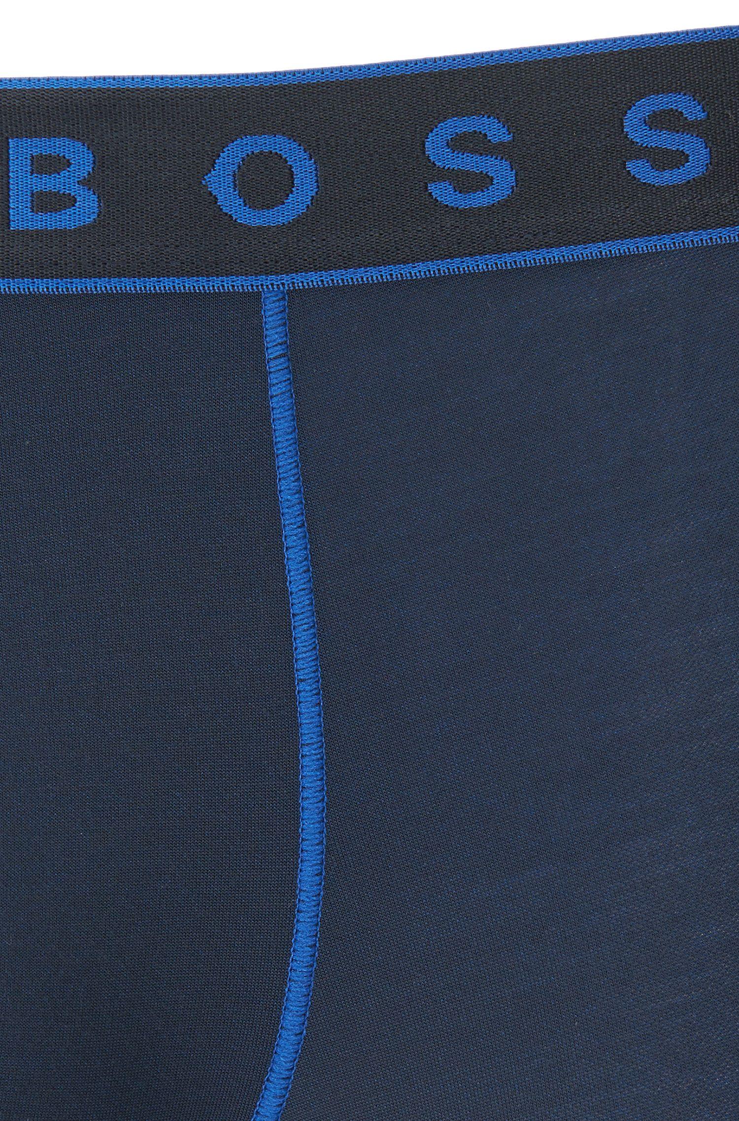 Microfiber Boxer Brief | Boxer Brief 2 Tone, Dark Blue