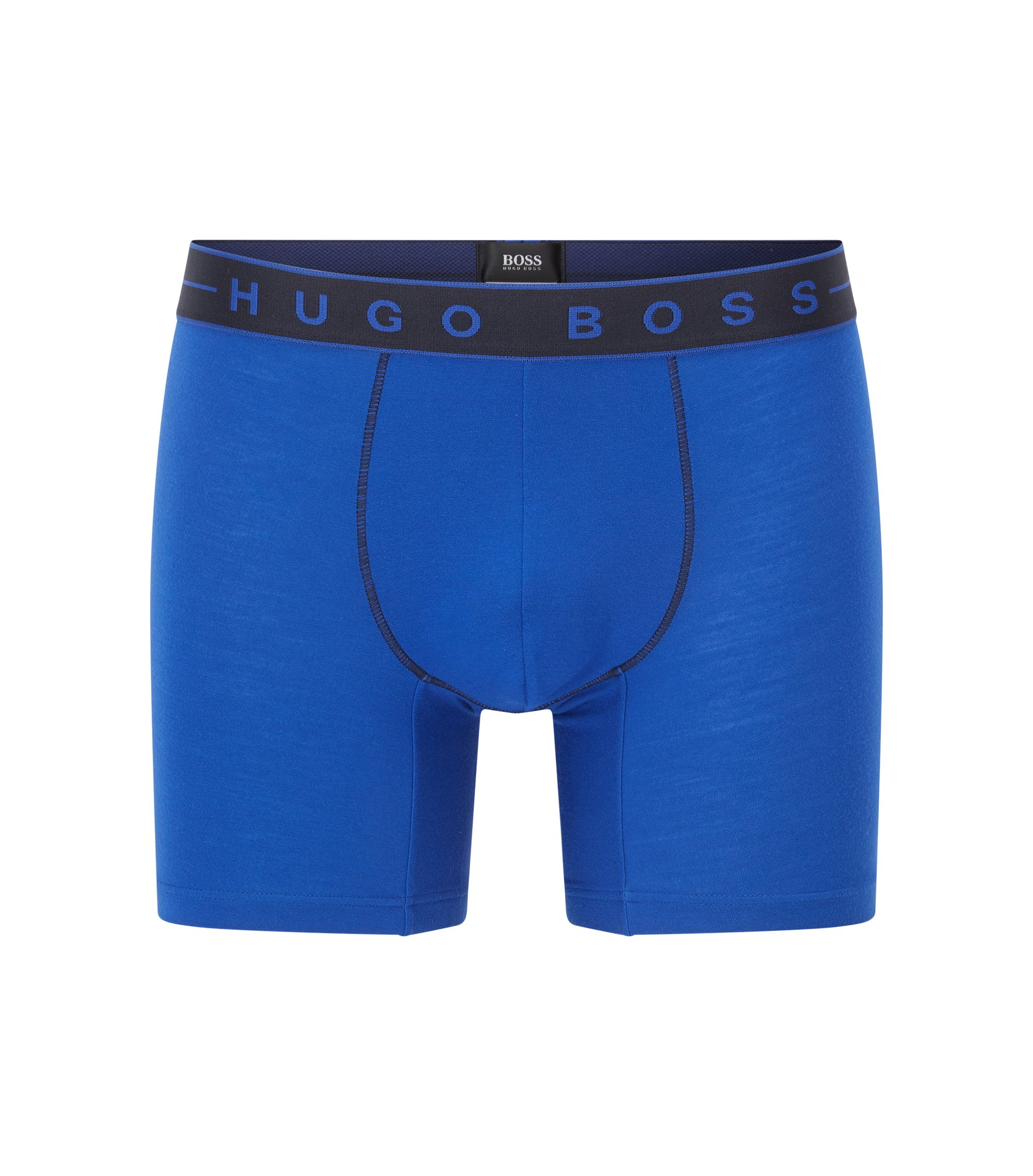 Microfiber Boxer Brief | Boxer Brief 2 Tone, Blue