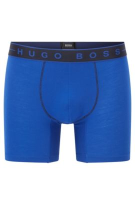 'Boxer Brief 2 Tone' | Microfiber Boxer Briefs, Blue
