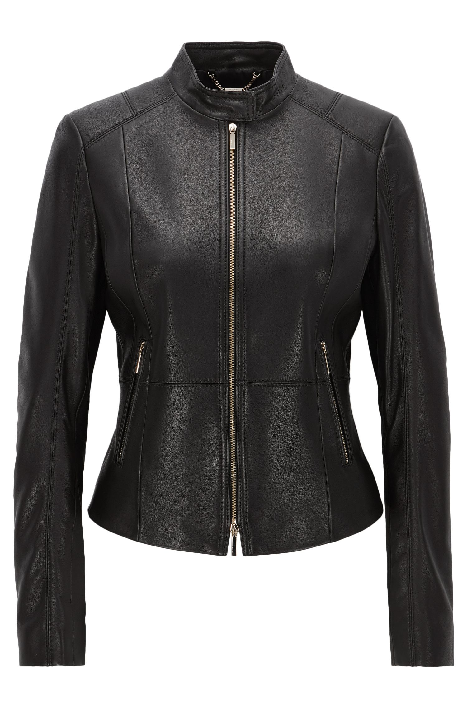 Lambskin Leather Jacket | Sammonaie