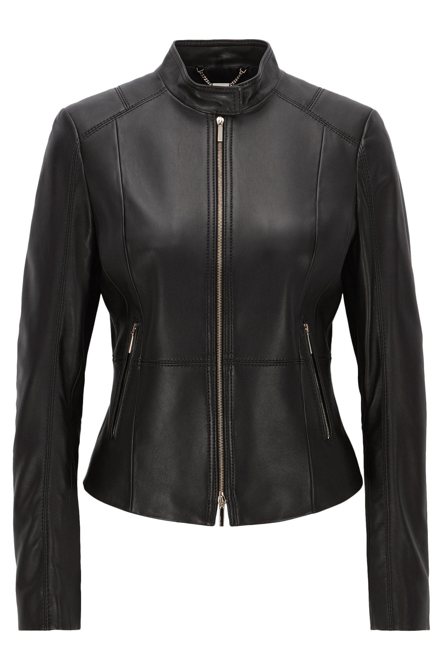 Lambskin Leather Jacket | Sammonaie