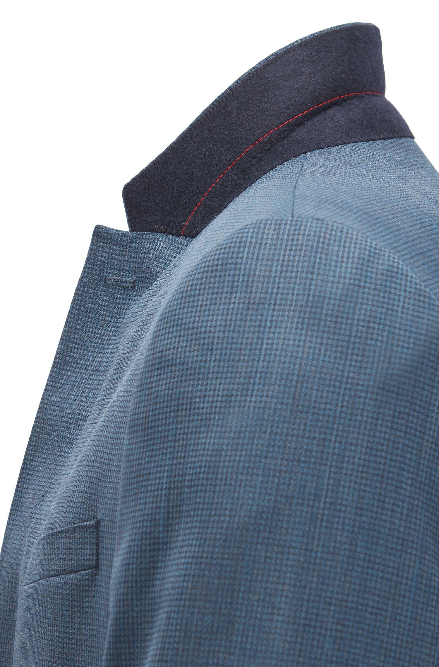 Stretch Virgin Wool Blend Suit, Slim Fit | C-Harvey/C-Getlin