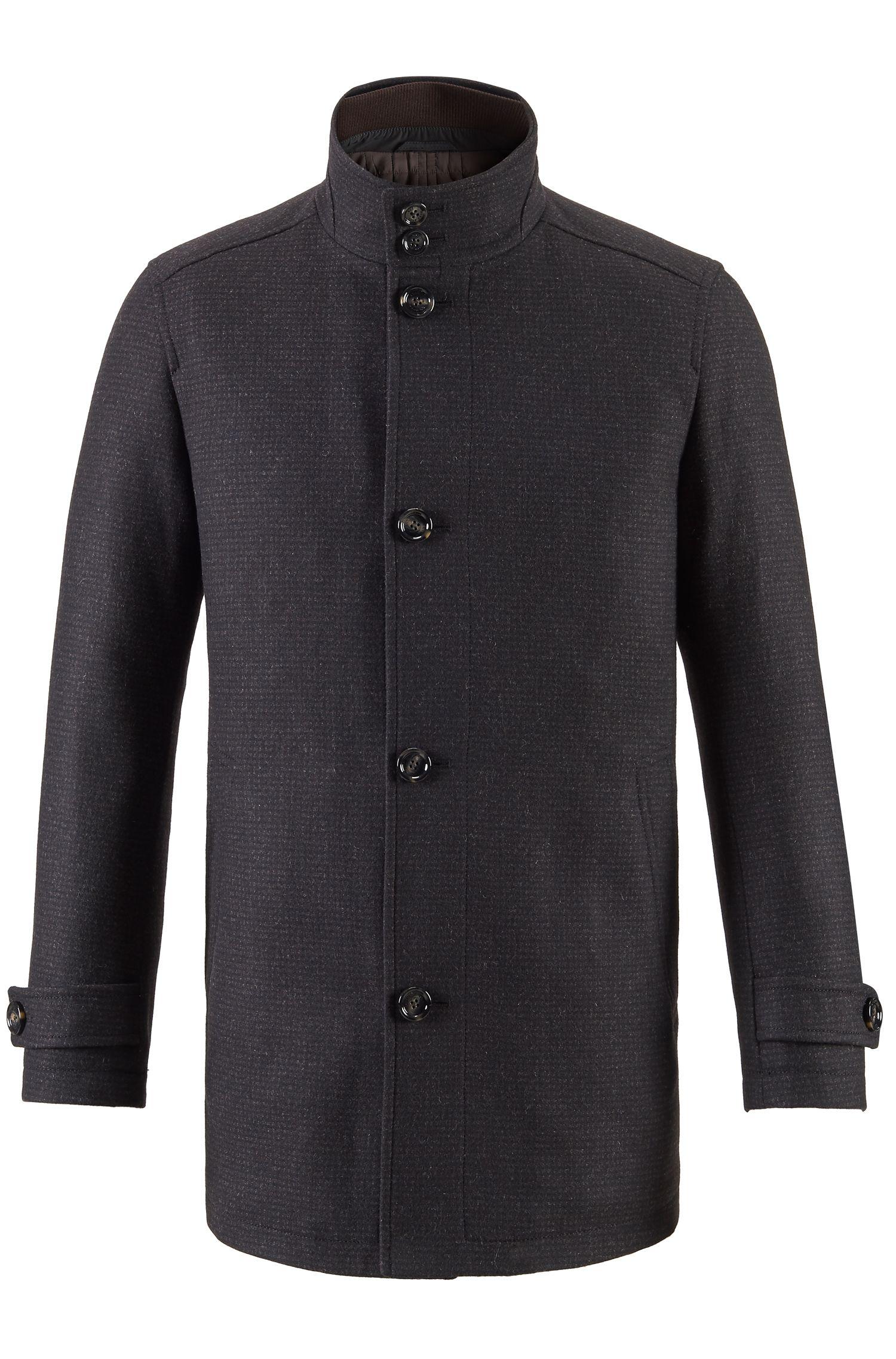 Wool Blend Coat | Camlow