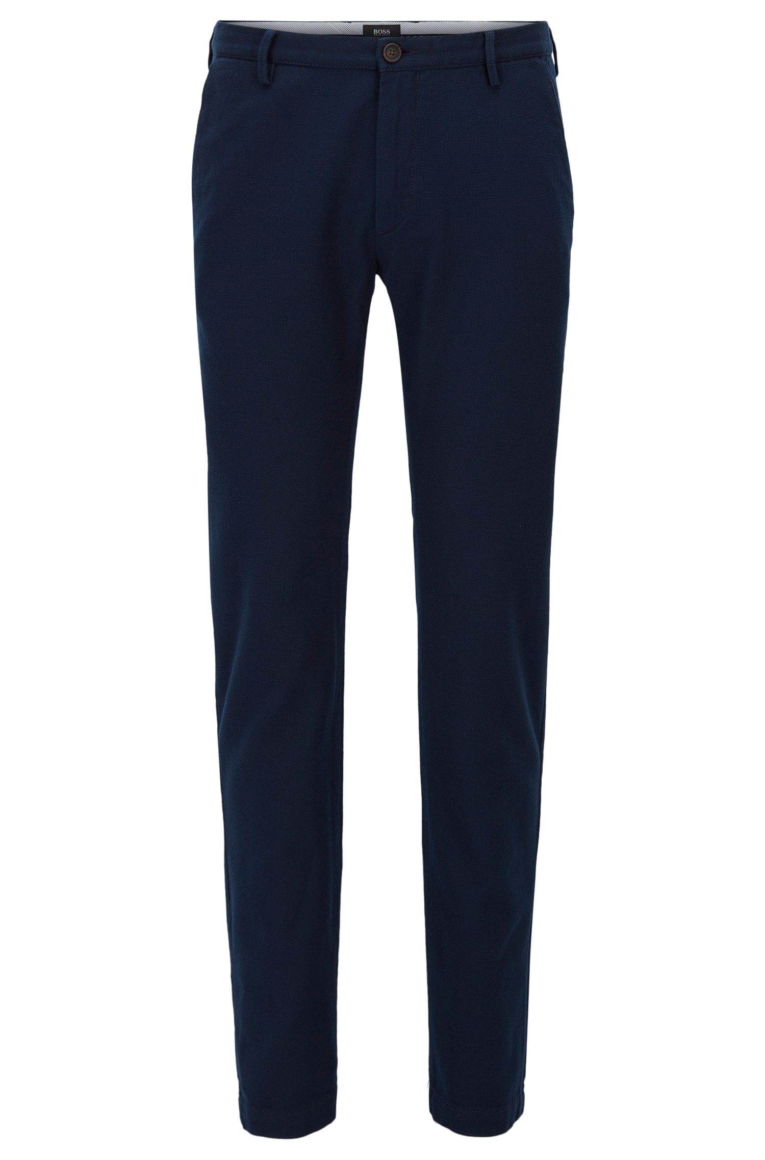 'Rice W' | Slim Fit, Stretch Cotton Chino Pants