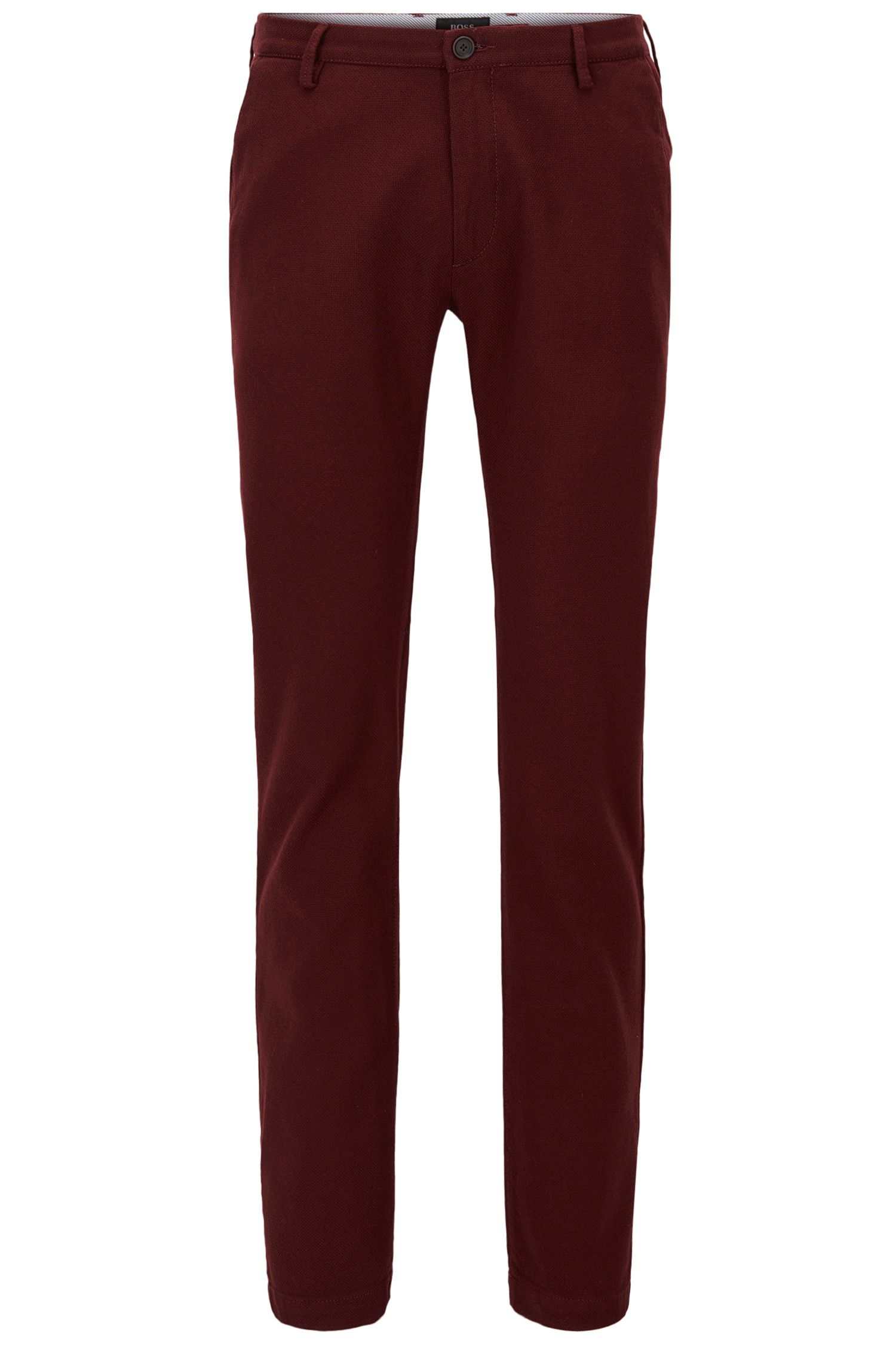 Stretch Cotton Chino Pants, Slim Fit | Rice W