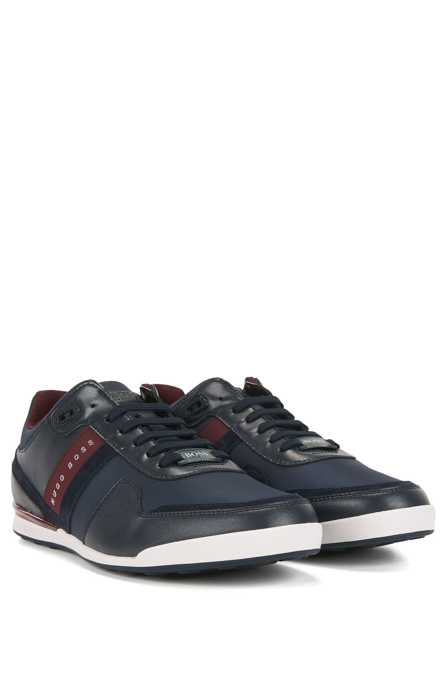Leather & Textile Sneaker | Arkansas Lowp Nymx