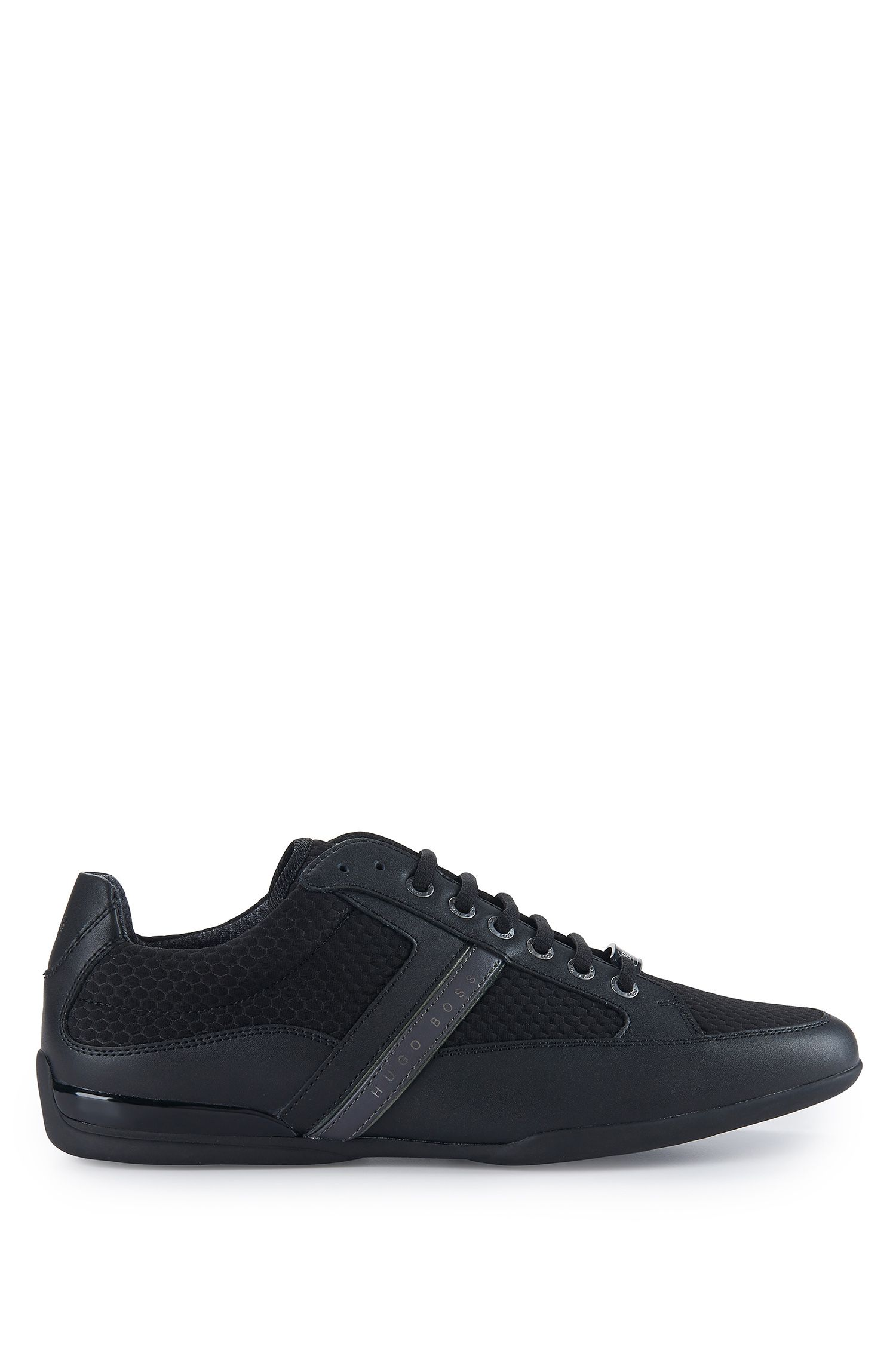 Mesh Leather Sneaker | Space Lowp Nyme