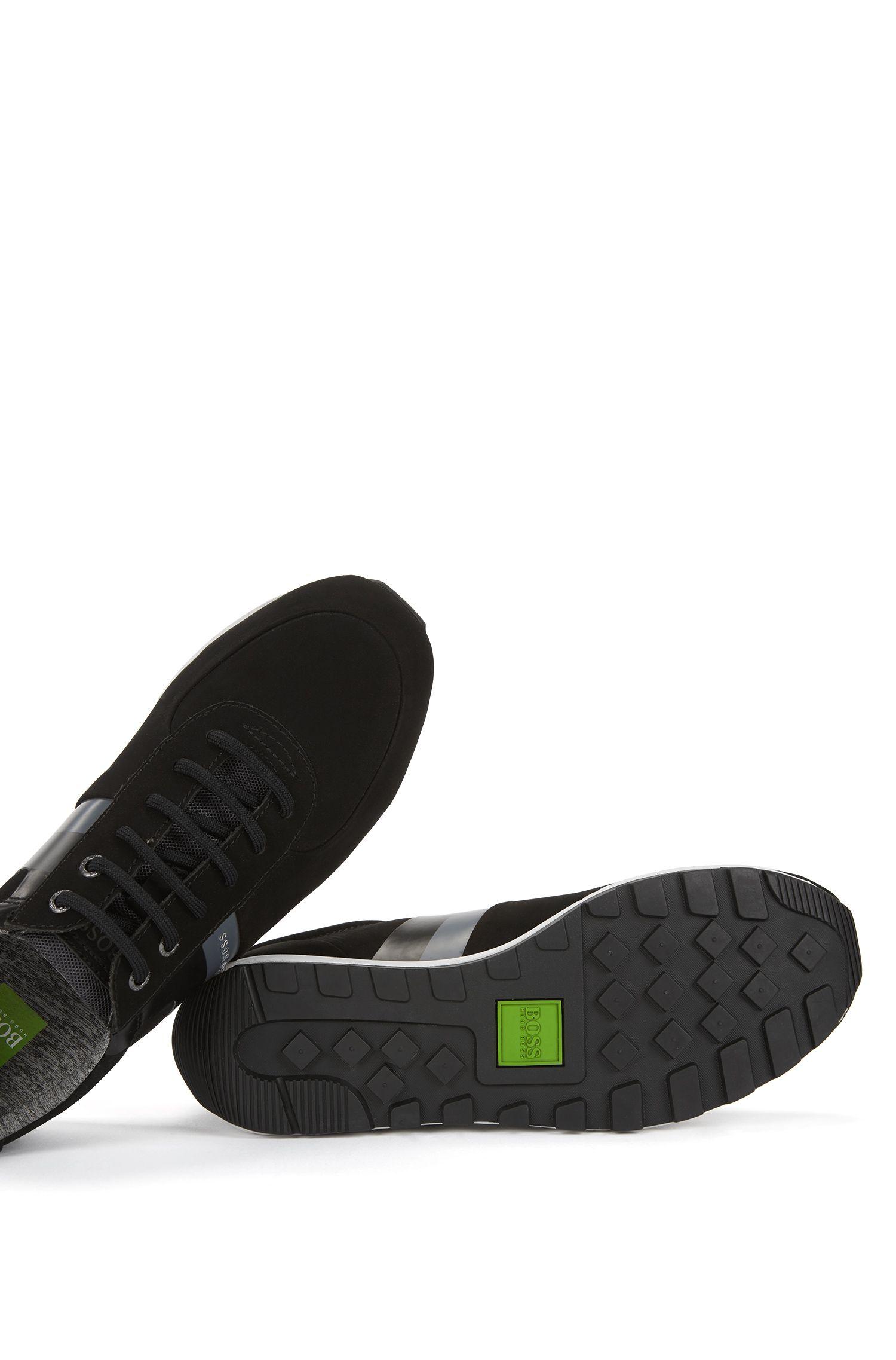 Leather Sneaker | Blast Runn Nust