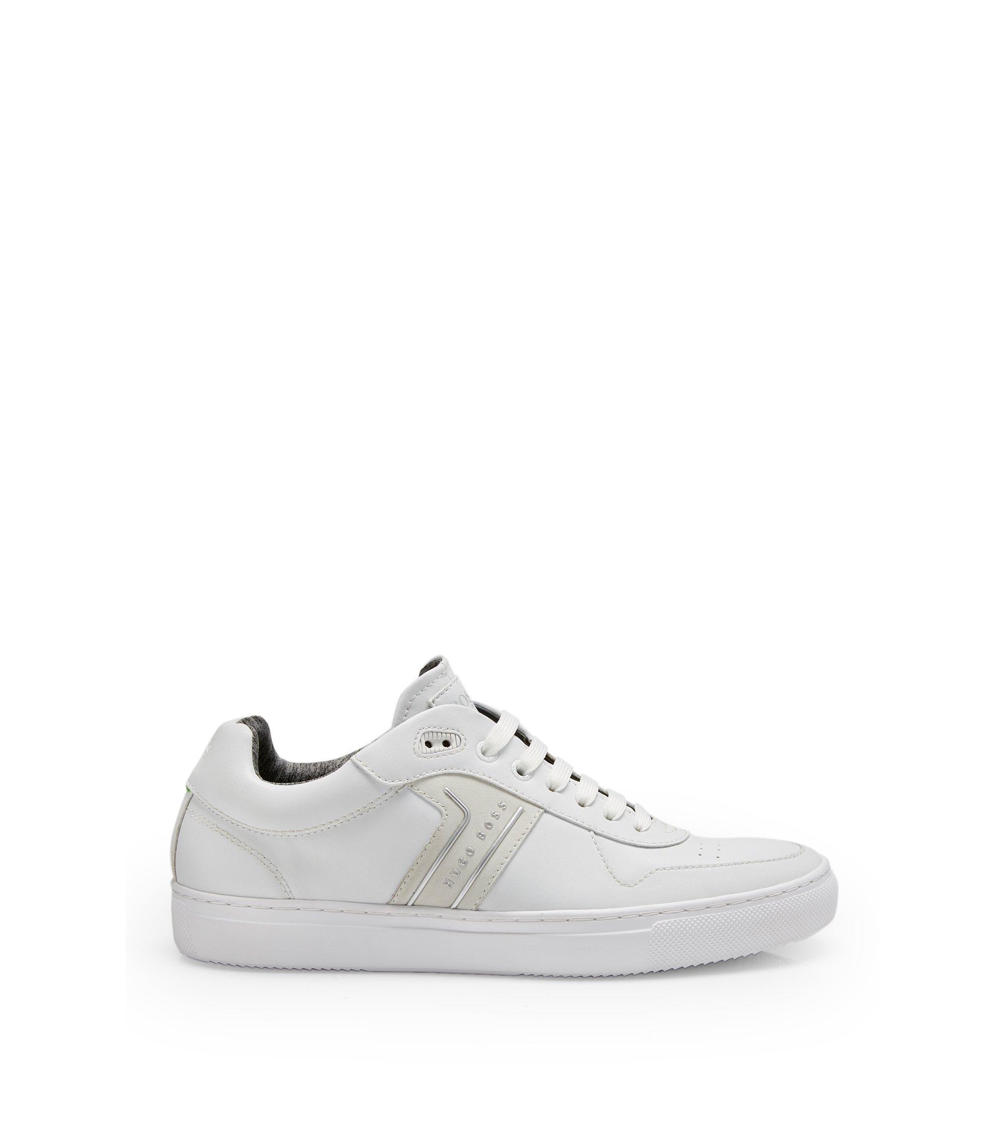 Leather Sneaker | Enlight Tenn It , White