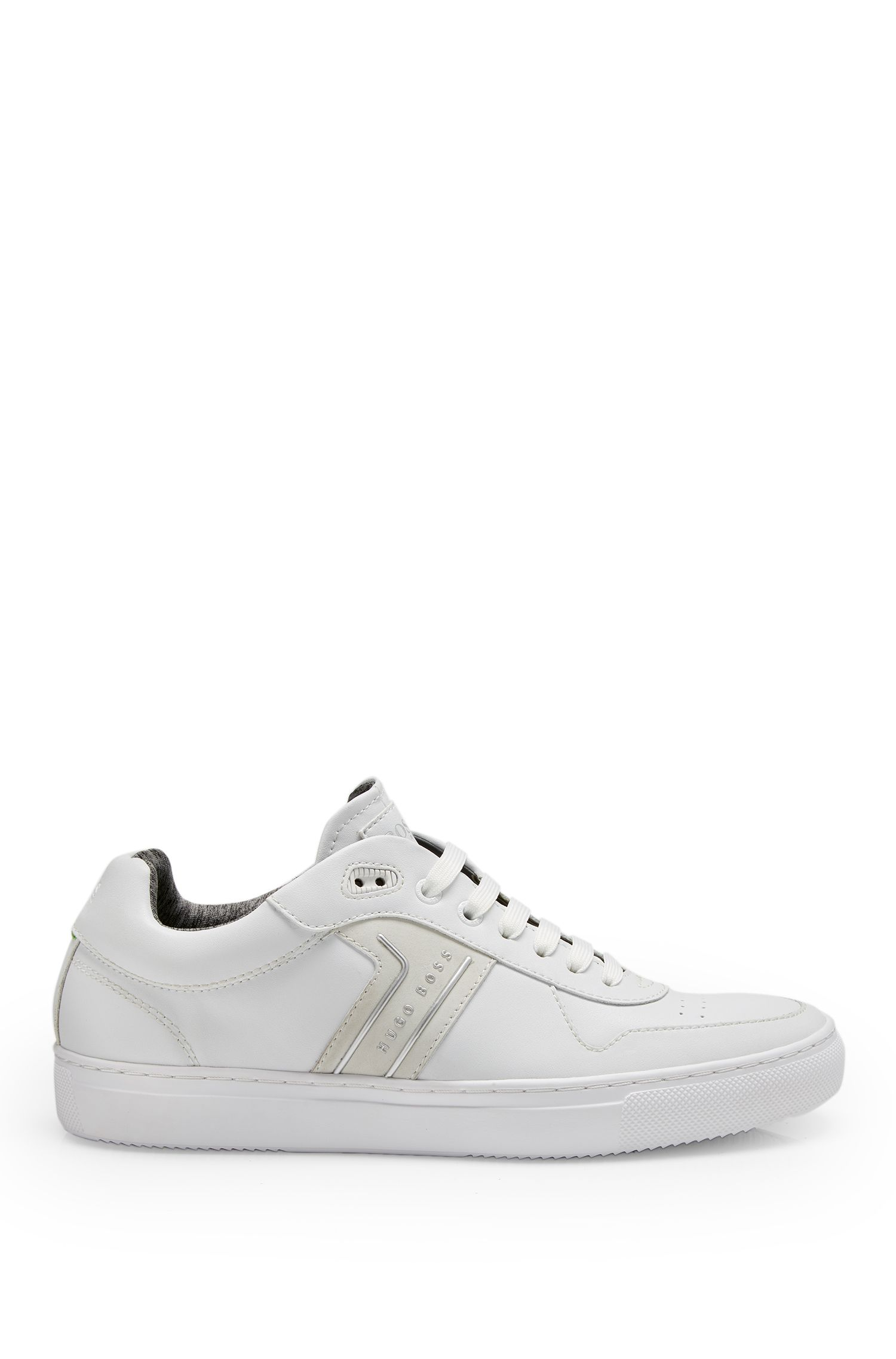 Leather Sneaker | Enlight Tenn It , White