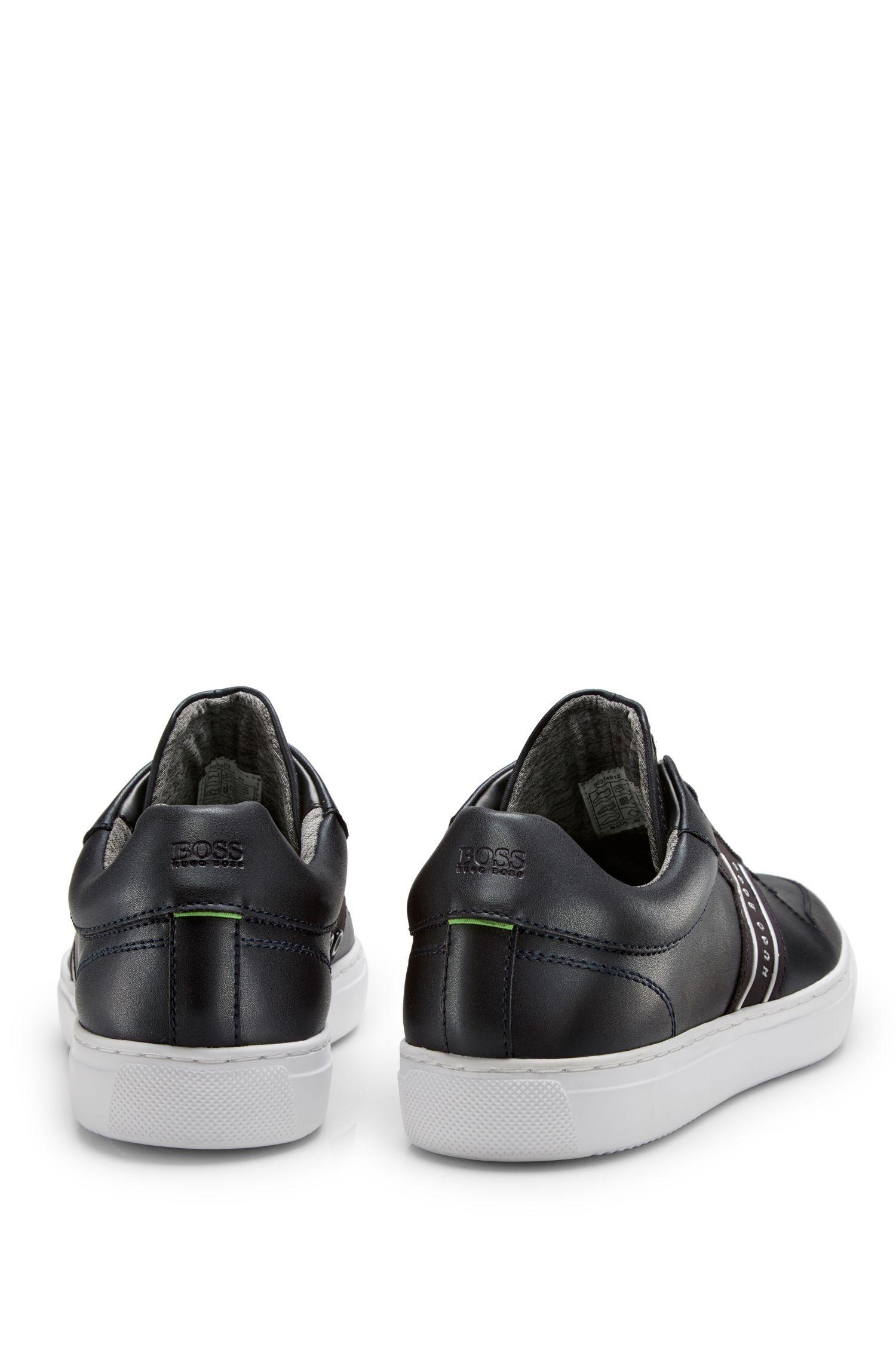 Leather Sneaker | Enlight Tenn It , Dark Blue