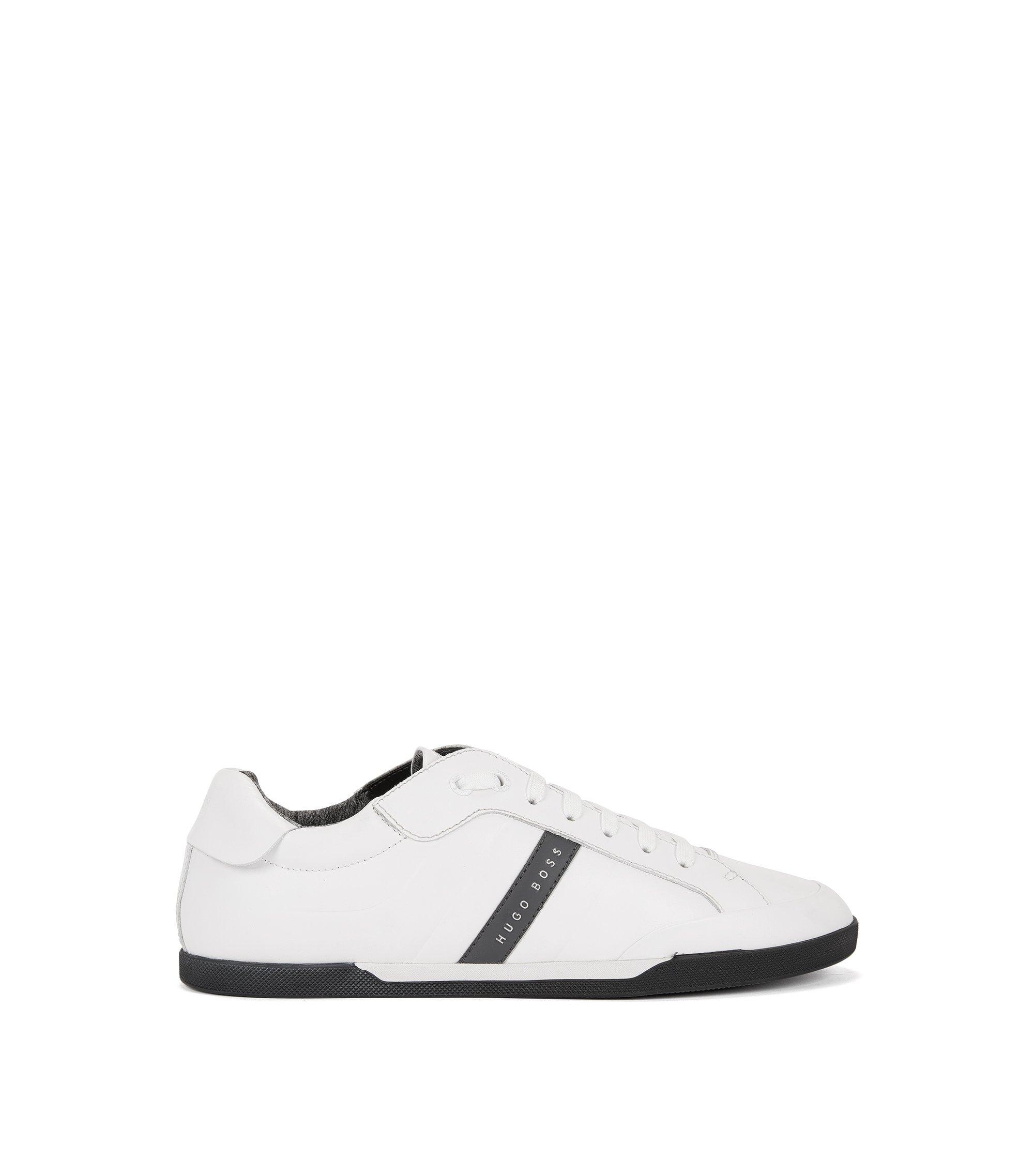 Leather Sneaker | Shuttle Tenn It, White