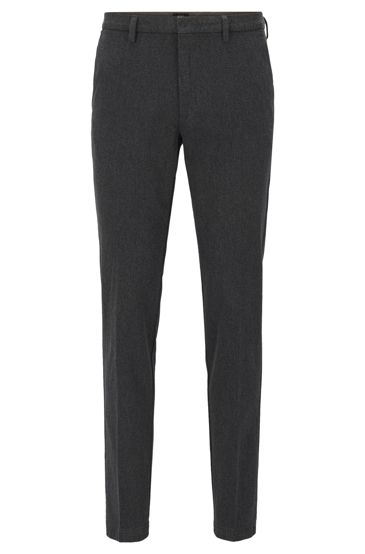 Cotton Stretch Twill Pants, Slim Fit | Kaito W