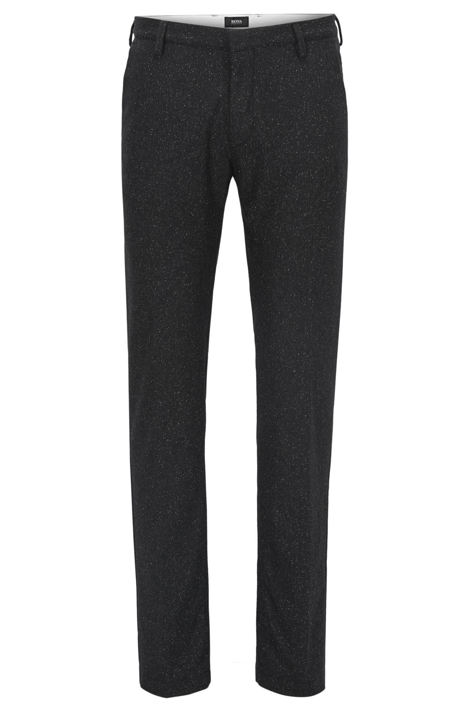 Virgin Wool Blend Pant, Slim Fit | Rice W