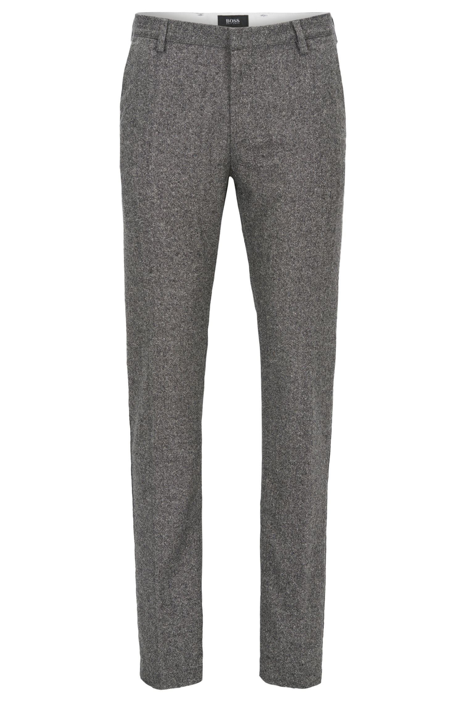 Virgin Wool Blend Pant, Slim Fit | Rice W