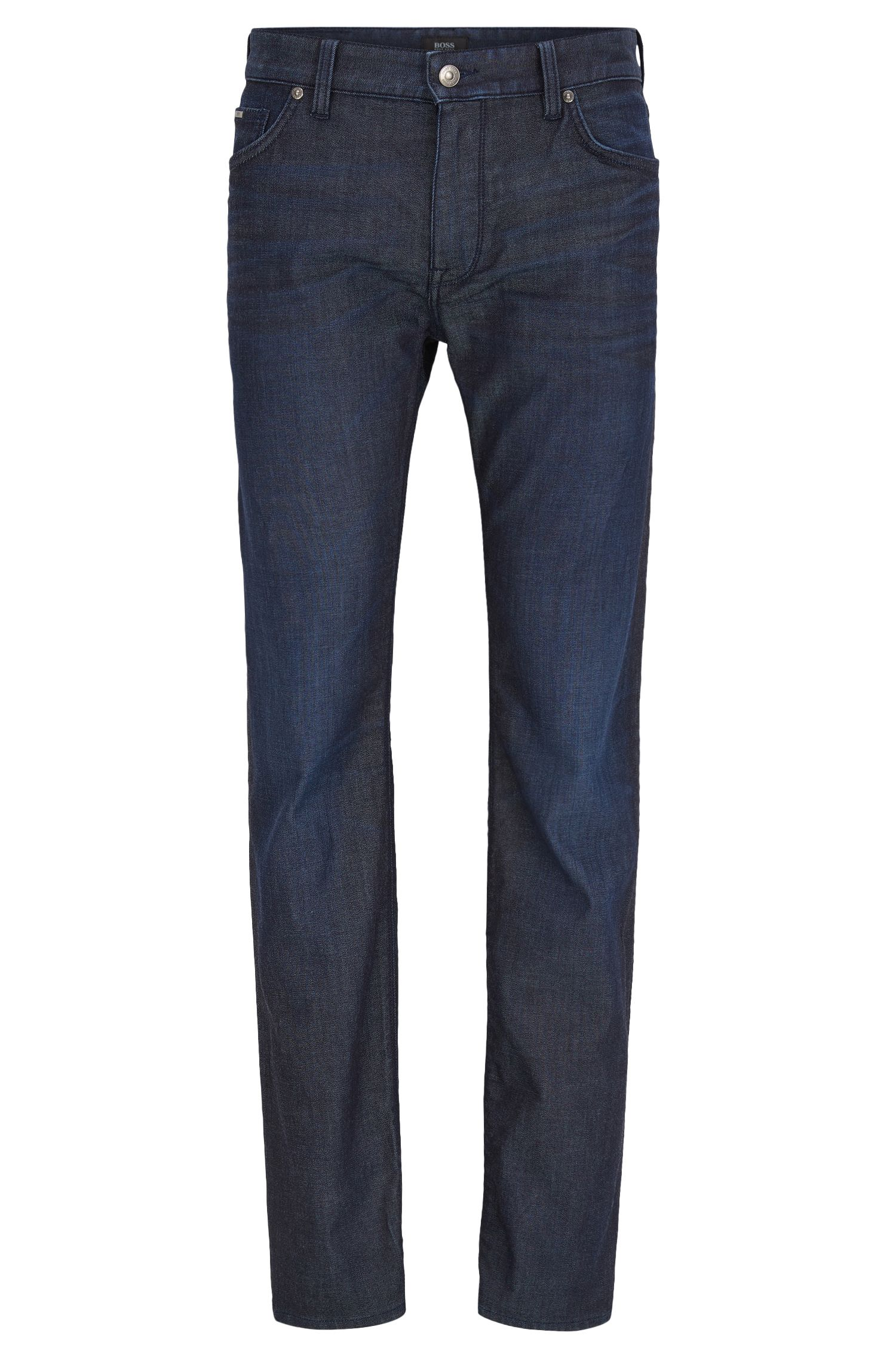 'Maine' | Regular Fit, 8.5 oz Stretch Cotton Jeans