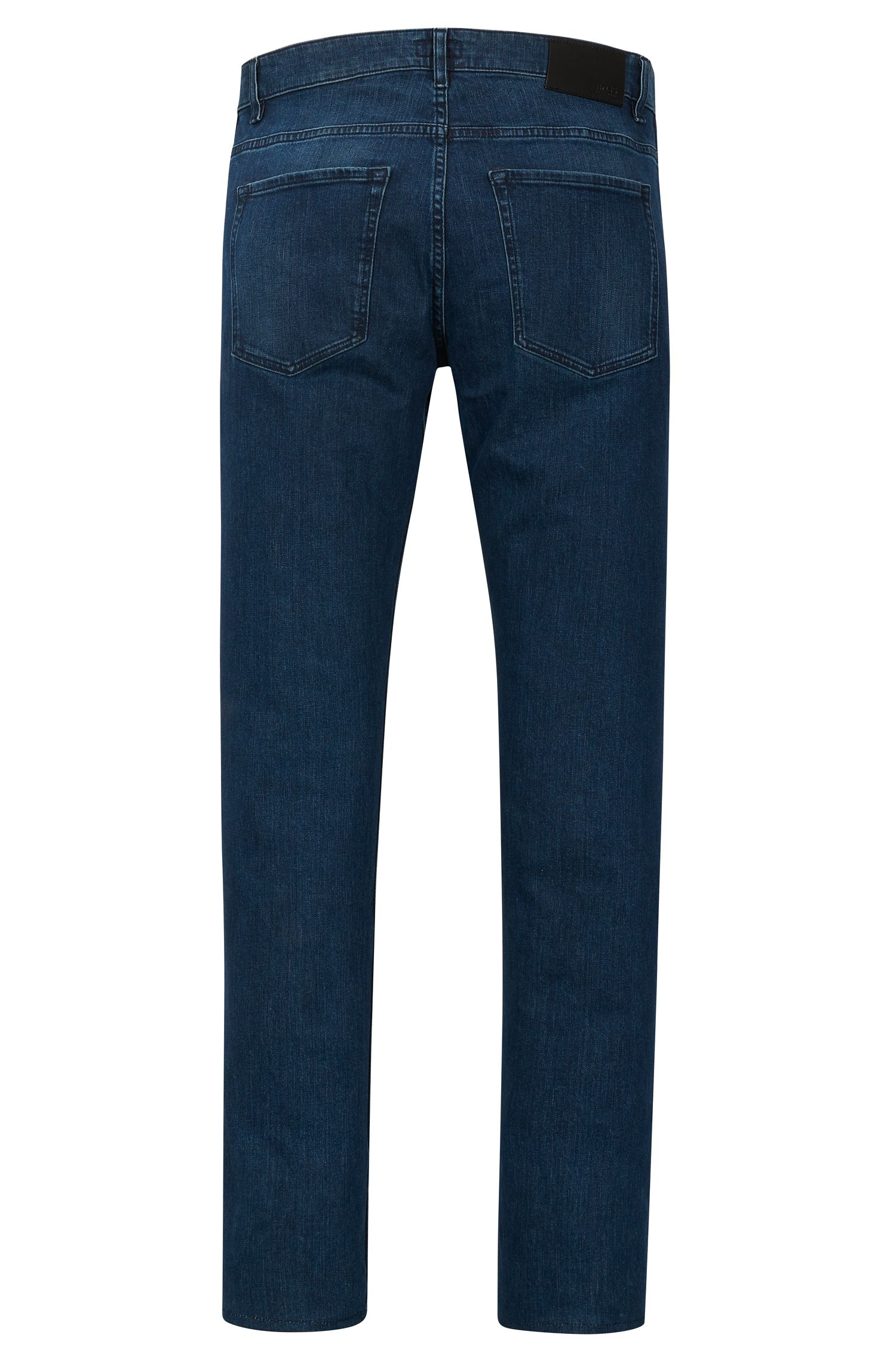 Stretch Cotton Jean, Slim Fit | Delaware, Dark Blue
