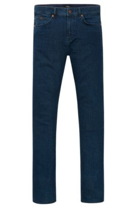 11 oz Stretch Cotton Jeans, Slim Fit | Delaware, Dark Blue