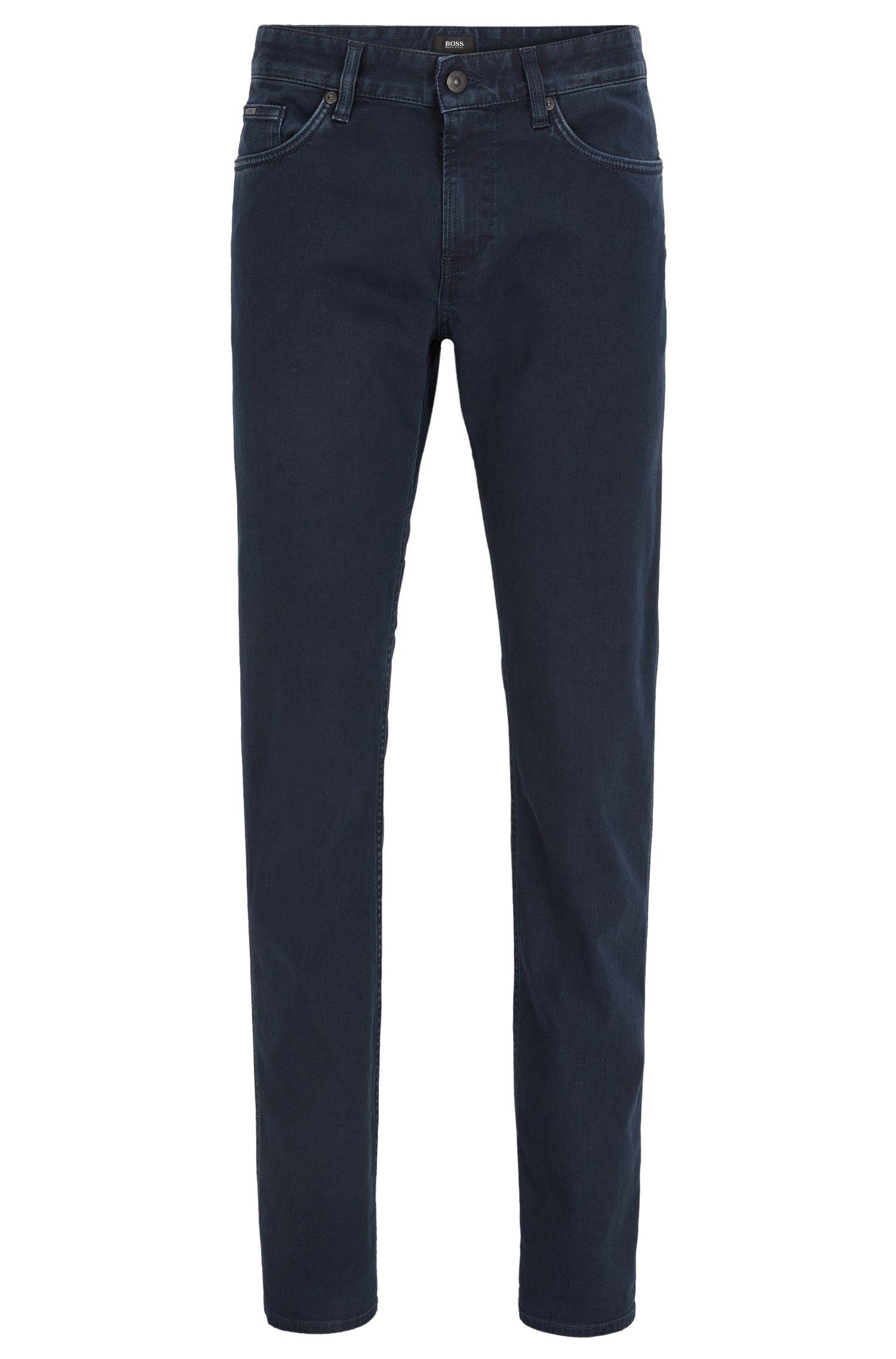 9.5 oz Stretch Cotton Jeans, Slim Fit | Delaware