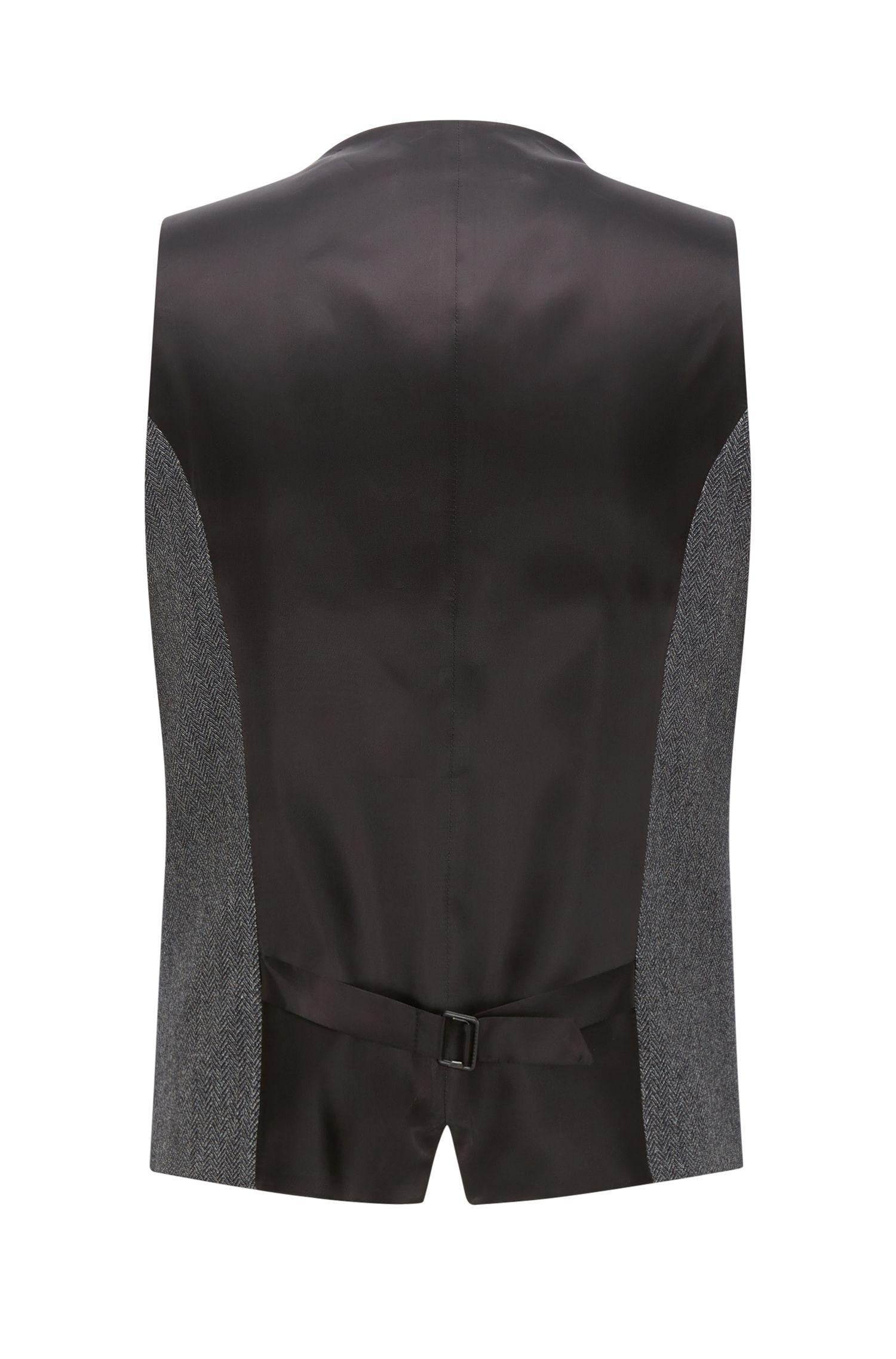 Herringbone Vest, Extra Slim Fit | Wilardo