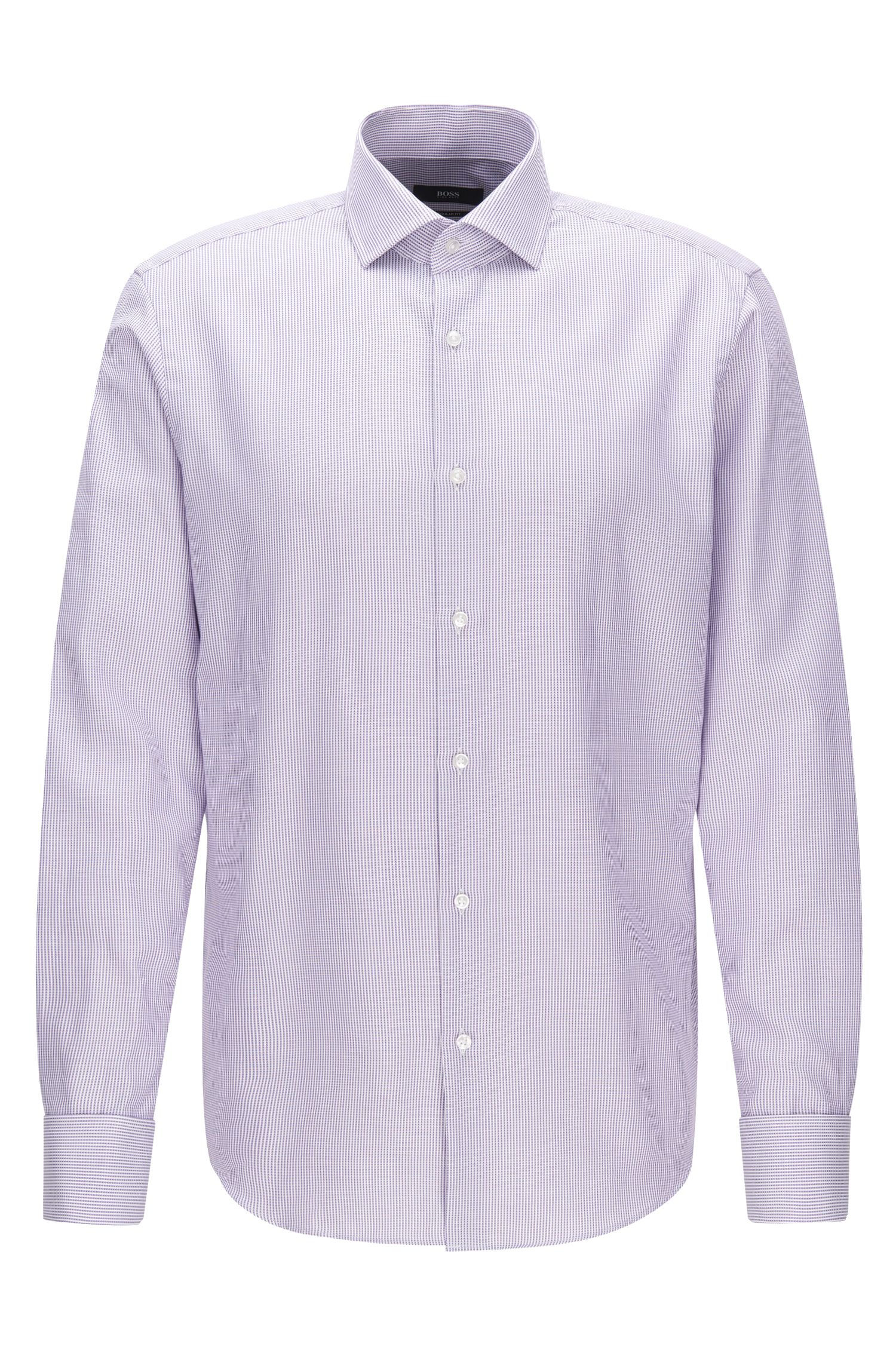 Dobby Cotton Dress Shirt, Regular Fit | Gardner
