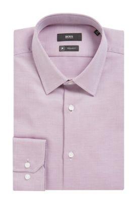 'Enzo' | Regular Fit, Cotton Dress Shirt, Red