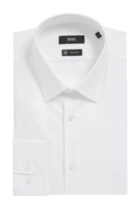 'Enzo' | Regular Fit, Fresh Active Traveler Dress Shirt, White