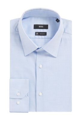 Fresh Active Traveler Dress Shirt, Regular Fit | Enzo, Blue