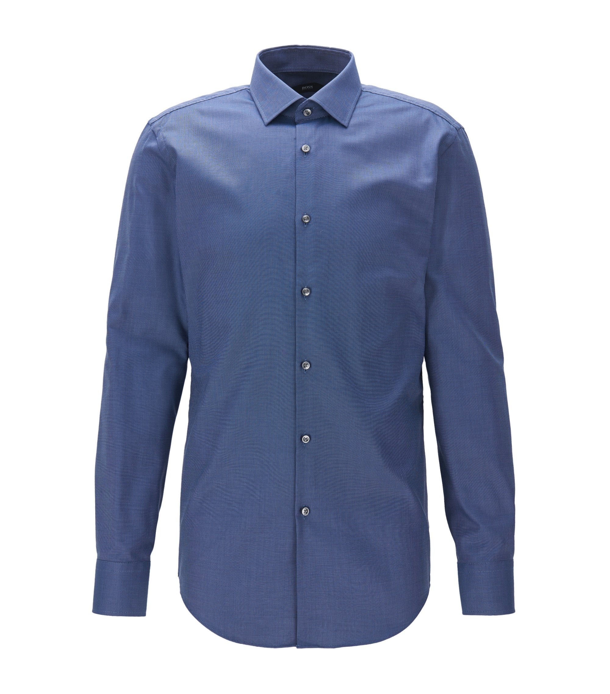 Fresh Active Traveler Dress Shirt, Slim Fit | Jenno, Blue