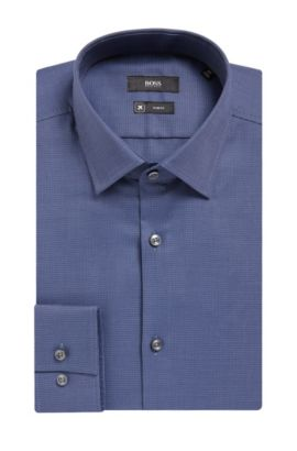 Fresh Active Traveler Dress Shirt, Slim Fit | Jenno, Blue