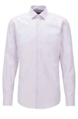 Fresh Active Traveler Dress Shirt, Slim Fit | Jenno, Light Purple