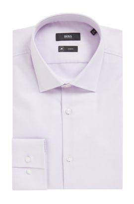 'Jenno' | Slim Fit, Fresh Active Traveler Dress Shirt, Light Purple