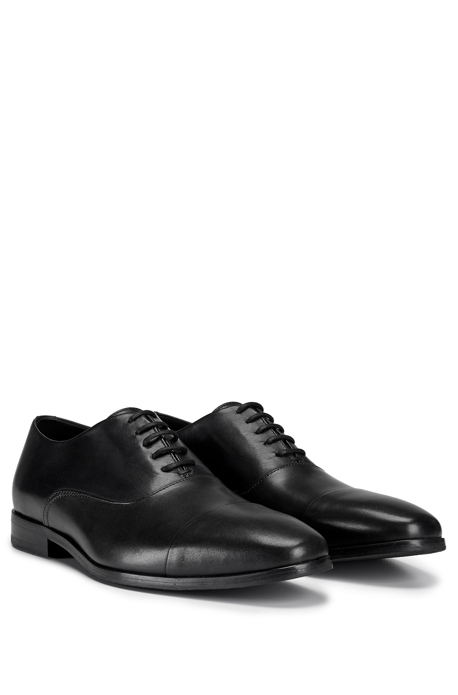 Leather Oxford Dress Shoe | Highline Oxfr Buct, Black