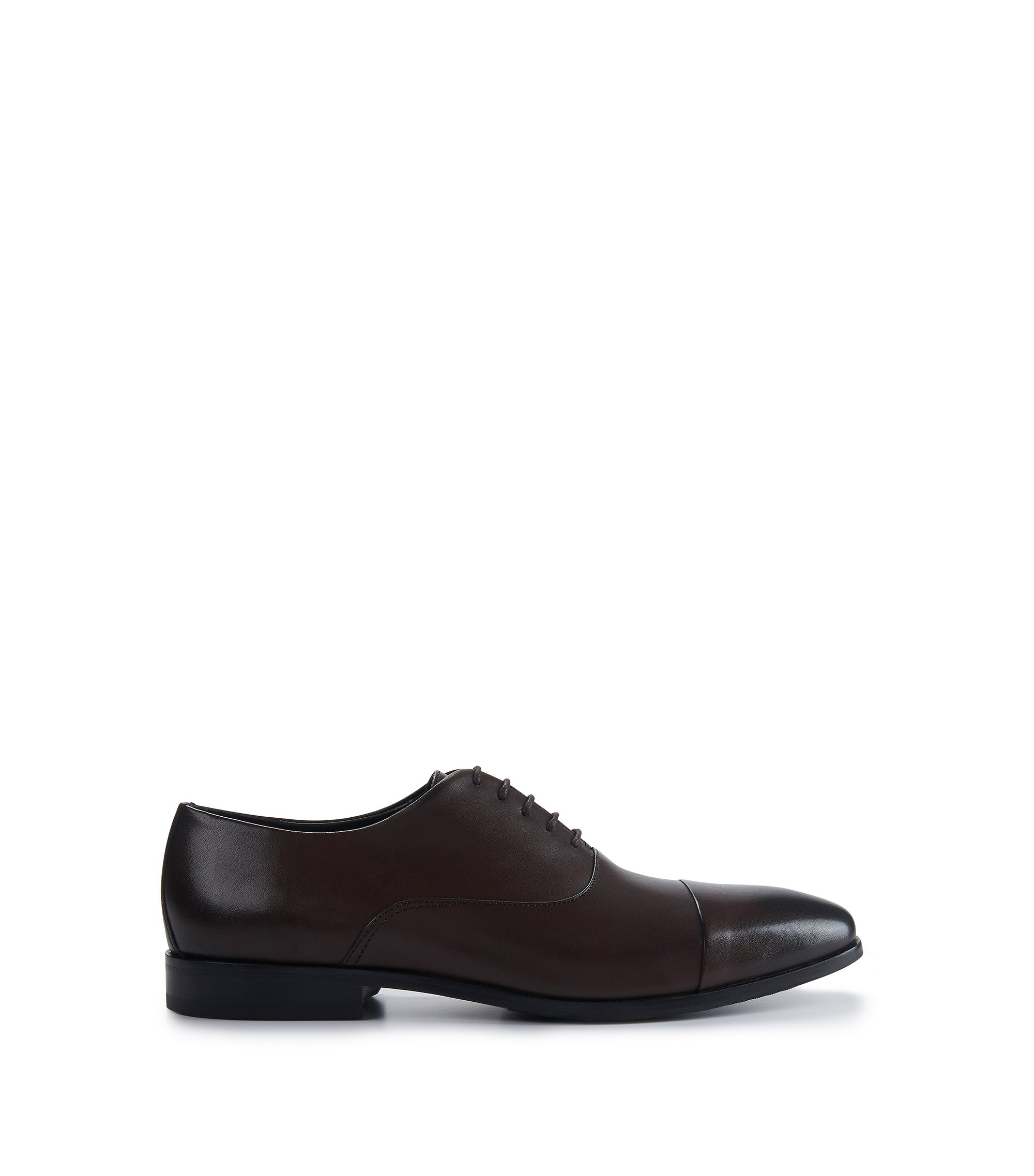 Leather Oxford Dress Shoe | Highline Oxfr Buct, Dark Brown